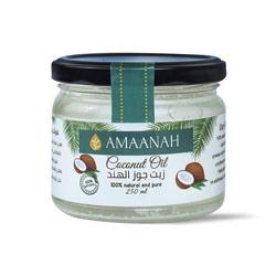 أمانه زيت جوز الهند 250مل –  Amaanah - Glosscairo - Egypt