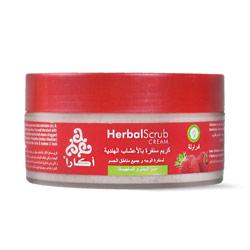 اكارا  سنفرة للوجه والجسم بالفراولة و الأعشاب الهندية 200مل – Acara - Glosscairo - Egypt