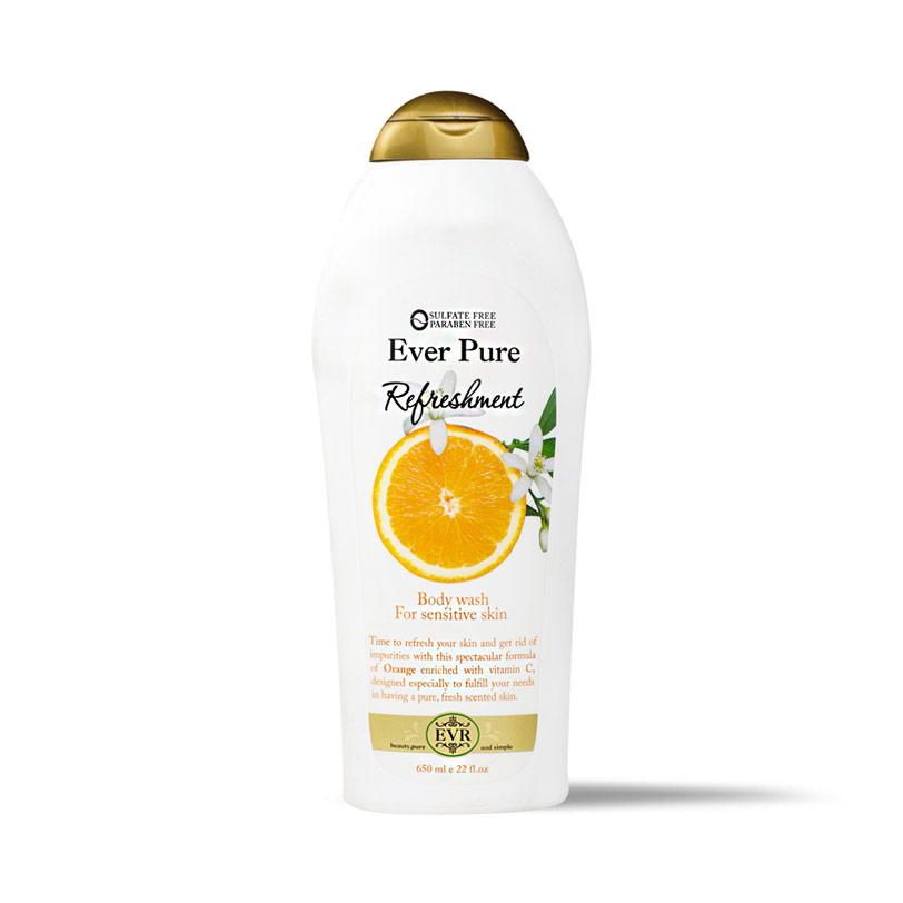 ايفر بيور سائل الأستحمام بالبرتقال 650مل - Ever Pure - 80EGP - Buy it from GlossCairo.com