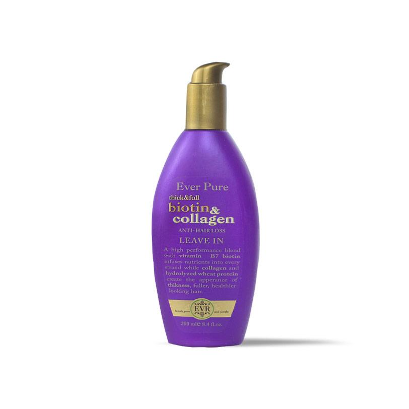 ايفر بيور ليف ان بيوتين وكولاجين  250مل - Ever Pure - 120EGP - Buy it from GlossCairo.com