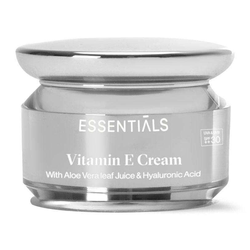 كريم مرطب للوجه spf 30 غني بفيتامين هـ 30 مل - Essentials - 300.00EGP - Buy it from GlossCairo.com