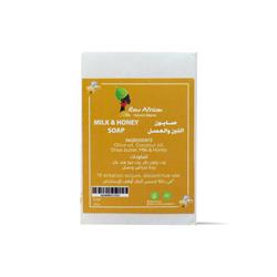 رو أفريكان صابونة الحليب والعسل للبشرة  75جرام – Raw African - Glosscairo - Egypt