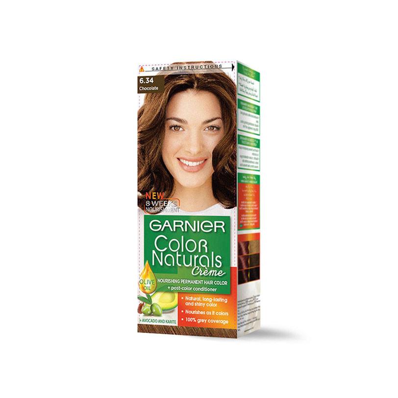 غارنية صبغة شعربنى شوكولاته 6.34 - Garnier - 55EGP - Buy it from GlossCairo.com