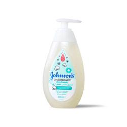 جونسون سائل استحمام للاطفال ملمس القطن 300مل  – Johnson (Gift) - Glosscairo - Egypt