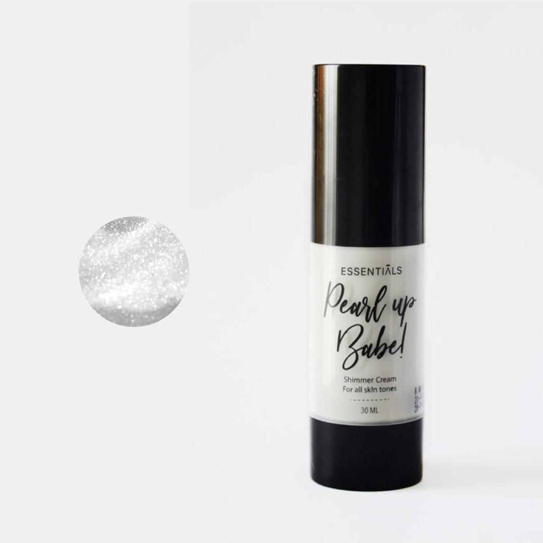 """ملمع كريمي للبشرة والجسم Pearl Up Babe - Pearlescent رقم """"1"""" 30 مل - Essentials - 220.00EGP - Buy it from GlossCairo.com"""