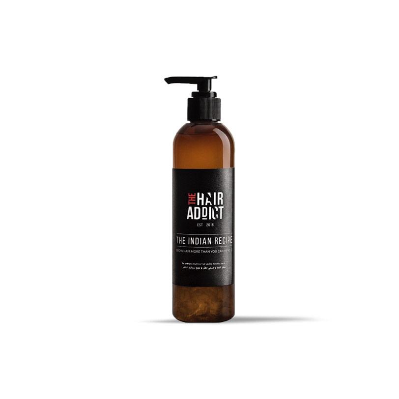 وصفة نمو الشعر الهندية 125مل - The Hair Addict - 270.00EGP - Buy it from GlossCairo.com