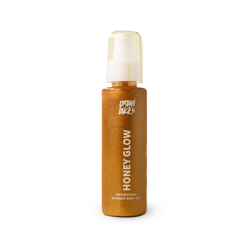 Honey glow Nourishing shimmer زيت للجسم 45 مل - Urban Ducks - Glosscairo - Egypt
