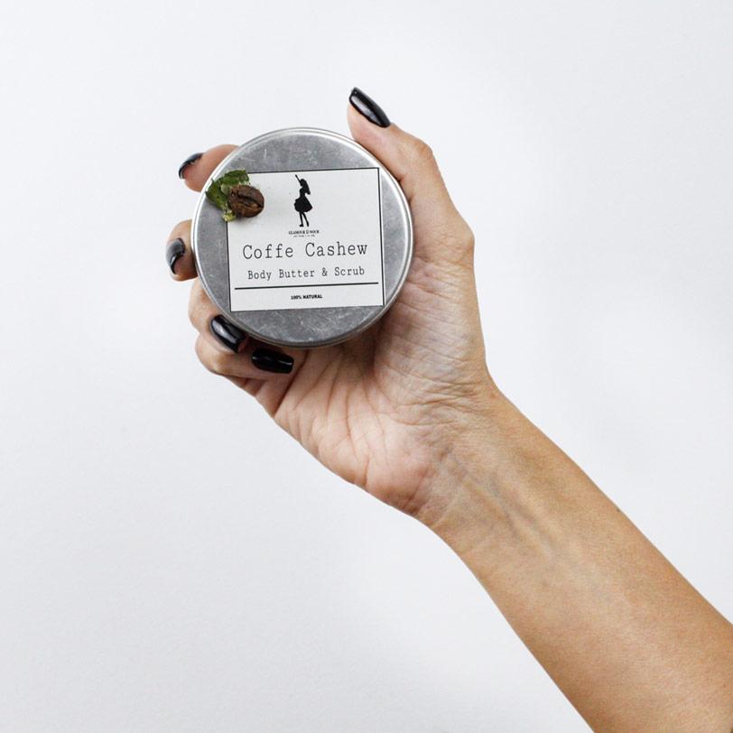 زبده واسكراب للجسم بالقهوه والكاجو - Glamour D Nour - 250EGP - Buy it from GlossCairo.com