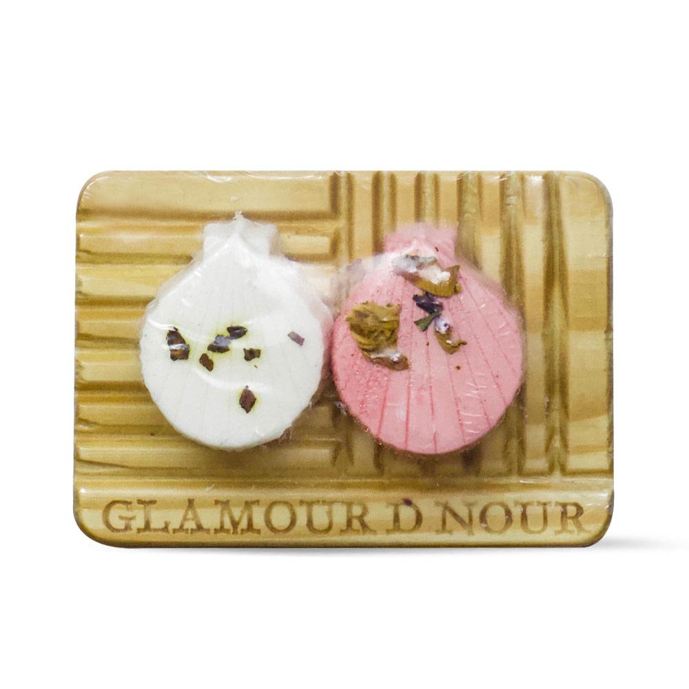 حامل الصابون الخشبي – Glamour D Nour - Glosscairo - Egypt