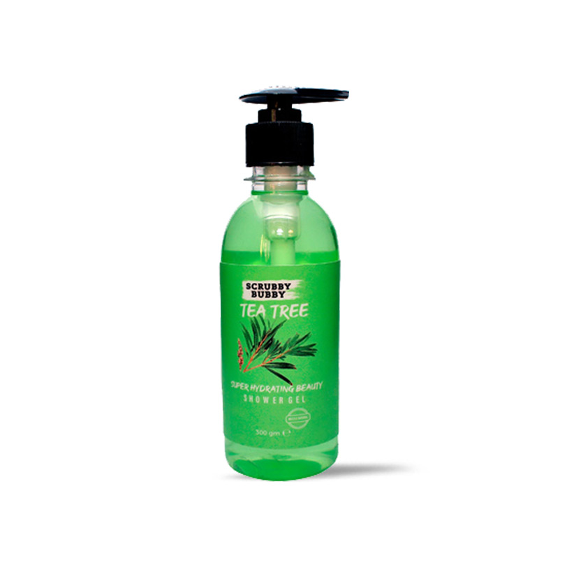 سائل استحمام بزيت شجرة الشاى 300مل -  Scrubby Bubby - 85EGP - Buy it from GlossCairo.com