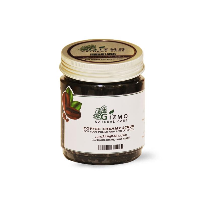 اسكراب القهوة و زبدة الشيا للبشرة والجسم  300جرام- Gizmo - 200EGP - Buy it from GlossCairo.com