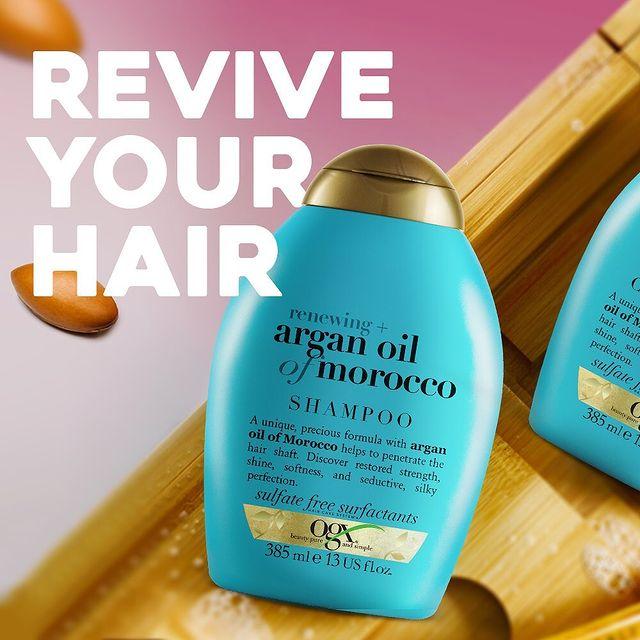 أو جي أكس شامبو  لتجديد الشعر بزيت الأرجان المغربي 385 مل - OGX - 250.00EGP - Buy it from GlossCairo.com
