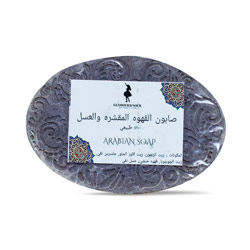 صابونة القهوة والعسل لتفتيح البشرة  –  Glamour D Nour - Glosscairo - Egypt