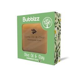 صابونة طبيعية بزيت الزيتون والطمي 160جرام – Bubblzz - Glosscairo - Egypt