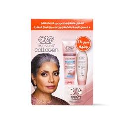 مجموعة ايڤا سكين كلينيك كريم بالكولاجين + غسول الوجه بالكولاجين – Eva - Glosscairo - Egypt