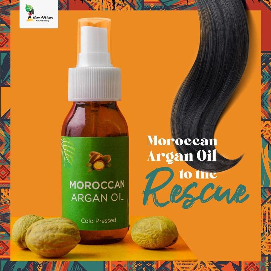 رو أفريكان زيت الأرجان المغربى 75مل - Raw African - 200.00EGP - Buy it from GlossCairo.com