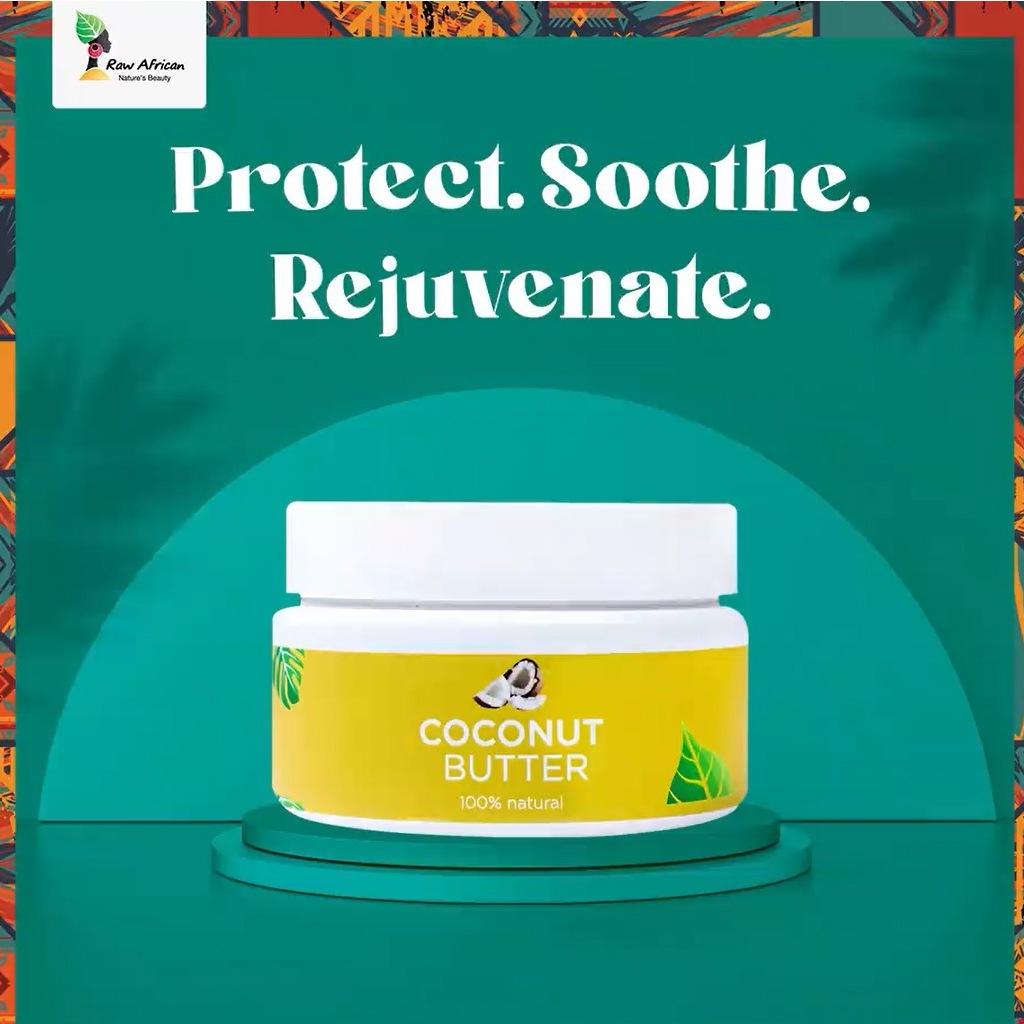 رو أفريكان زبدة الشيا بالفانيليا للبشرة 140جرام - Raw African - 135EGP - Buy it from GlossCairo.com