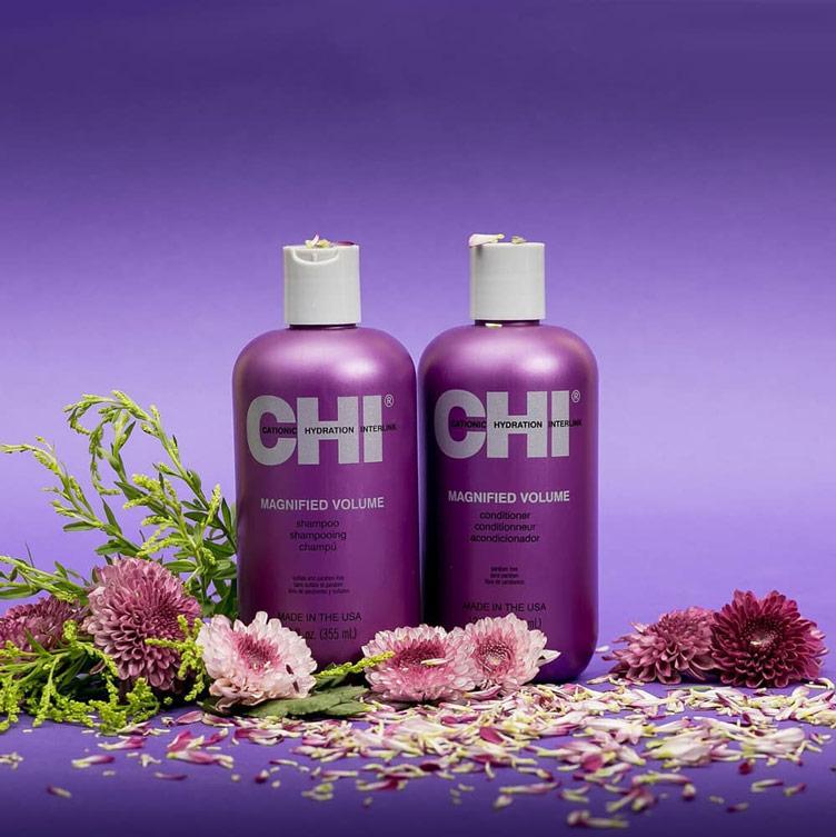 تشي شامبو لشعر أكثر كثافة بروتينات الأرز والحرير الطبيعى 355مل - CHI - 395EGP - Buy it from GlossCairo.com