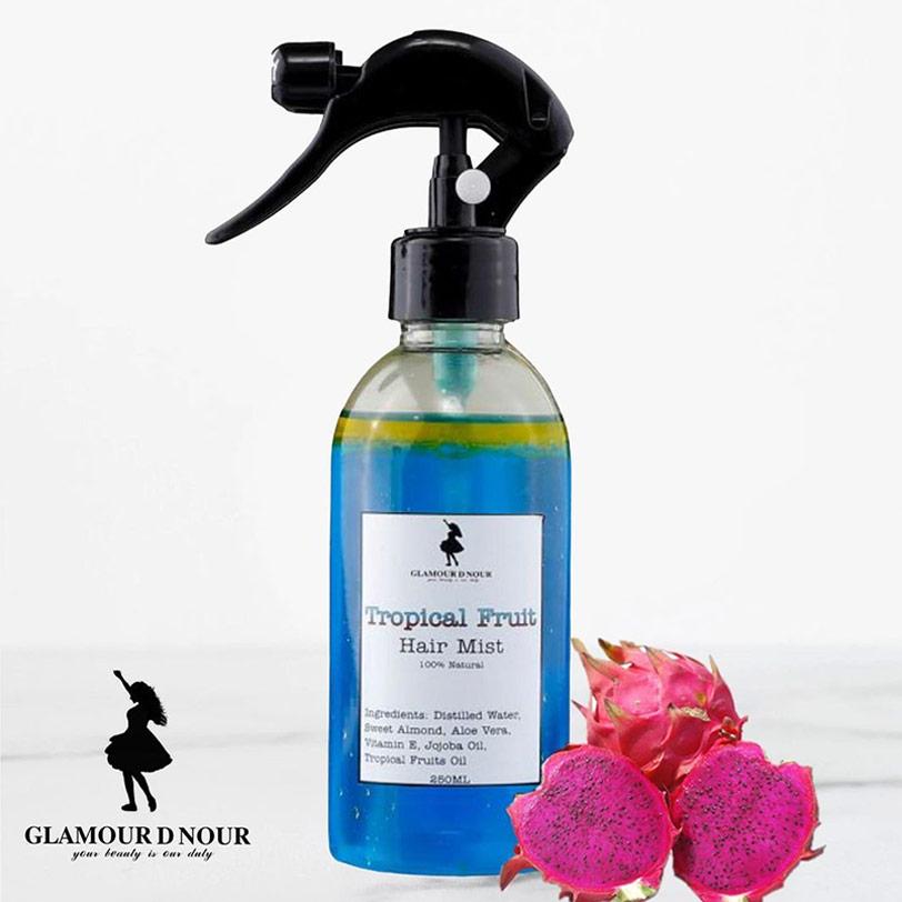 اسبراى الشعر بالفواكه الأستوائية 250مل - Glamour D Nour - 135EGP - Buy it from GlossCairo.com