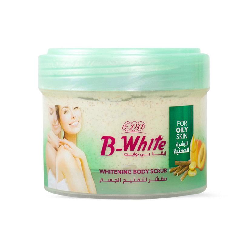 مقشر الجسم لتفتيح للبشرة الدهنية 212 جم B- White - Eva - 35EGP - Buy it from GlossCairo.com