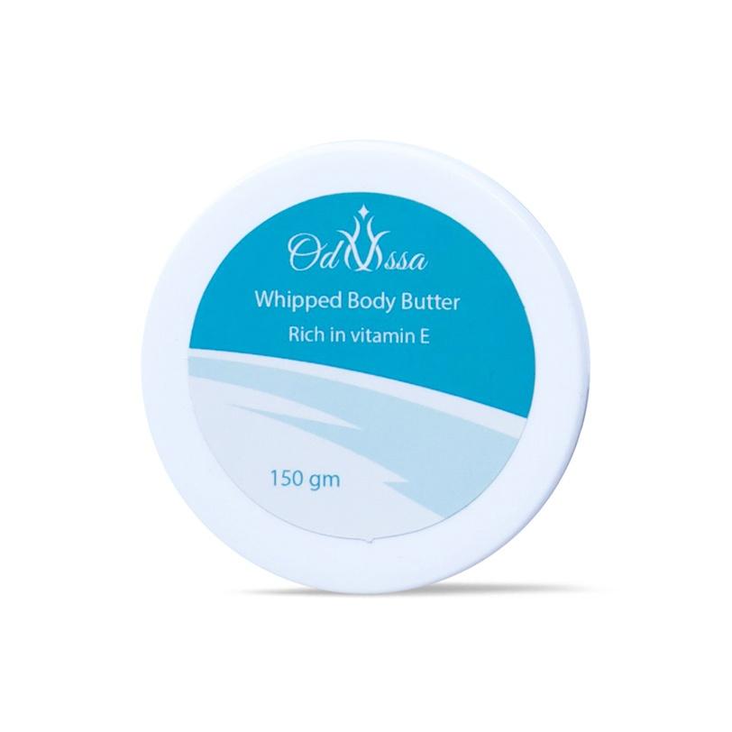 زبدة لترطيب الجسم بزبدة الشيا والكاكاو - Odyssa whipped body butter - 90.00EGP - Buy it from GlossCairo.com