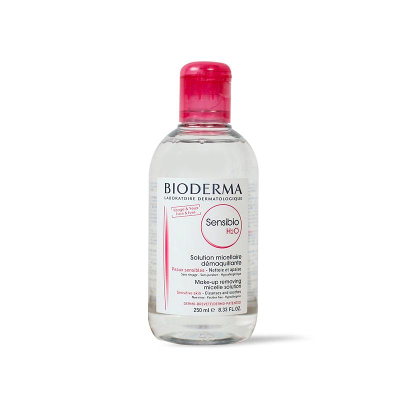 مزيل مكياج سينسيبو H2O لبشرة النقية وصافية وهادئة وخالية من المكياج 250 مل - Bioderma - 190.00EGP - Buy it from GlossCairo.com